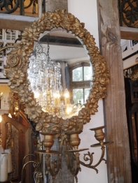 Mirror with Candle Holder (EU831)