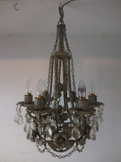 Painted Chandelier (A)