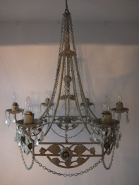 Painted Chandelier (B)
