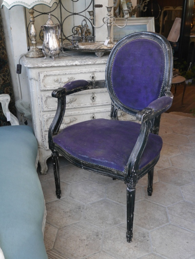 French Arm Chair (416-14) <ご売約済み>
