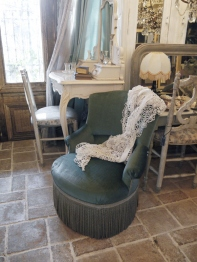 French Low Chair (649-15)