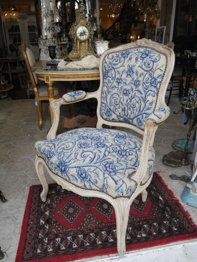 French Arm Chair (056-17)