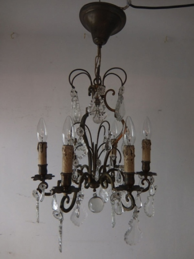 Crystal Chandelier (J)