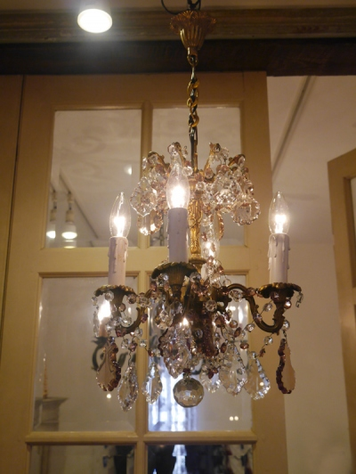 Crystal Chandelier (604-15)