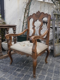 French Arm Chair (165-17)