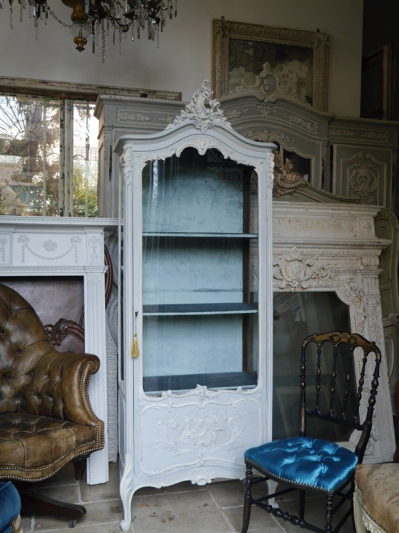 Armoire Glass Cabinet (366-19)