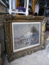 Antique Oil Painting (065-21)