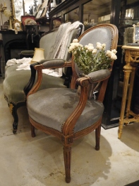 French Arm Chair (251-18)