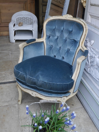 French Arm Chair (284-18)