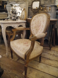 French Arm Chair (059-21)