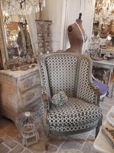French Arm Chair (608-10)