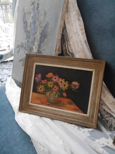 Antique Oil Painting (W0101-16)