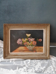Antique Oil Painting (W0102-16)
