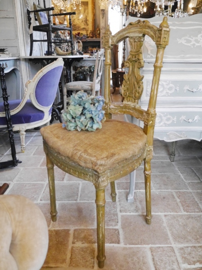 French Chair (TA116)<ご売約済み>