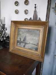 Antique Oil Painting (SK141)