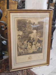 Antique Picture (B6502-17)