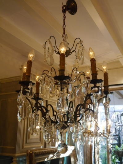 Crystal Chandelier (E-5)