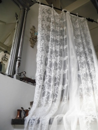 Lace Curtain <Snow> (BN005)