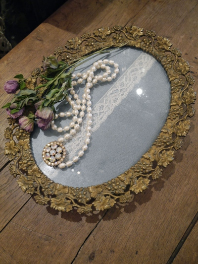 Antique Tray (D88-19)