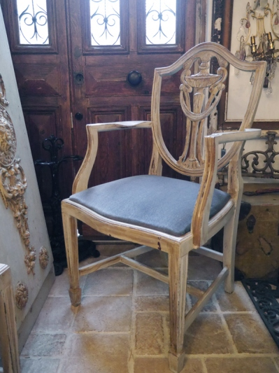 French Arm Chair (060-12)