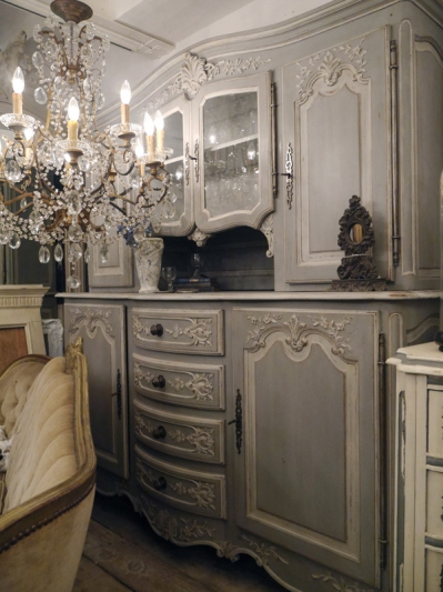 French Glass Cabinet (356-13)