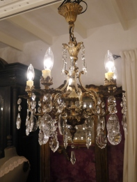 Crystal Chandelier (372-13)