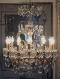 Crystal Chandelier (554-20)