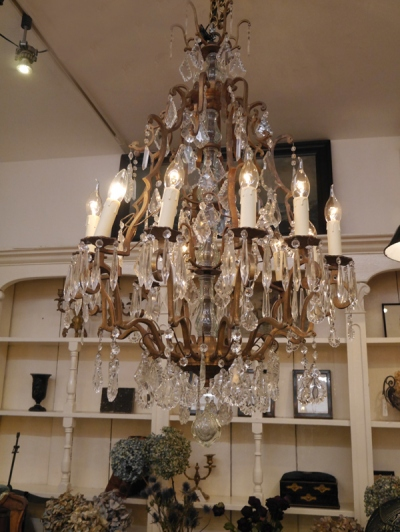 Crystal Chandelier (458-14)