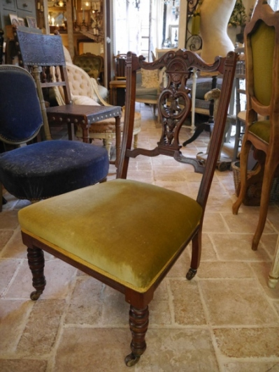 French Low Chair (E-1)