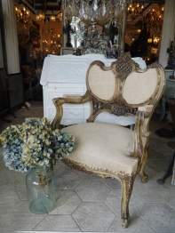 French Arm Chair (032-21)
