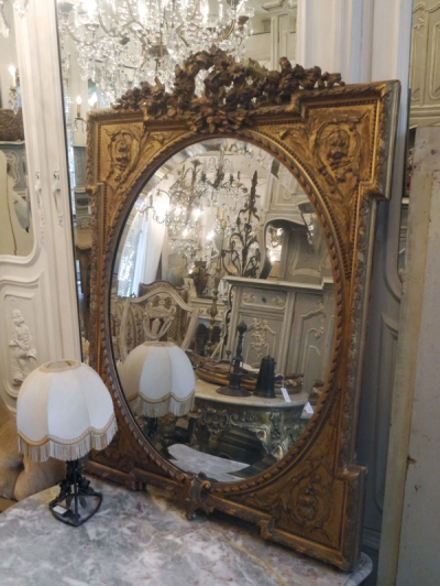 French Mirror (276-13) <ご売約済み>