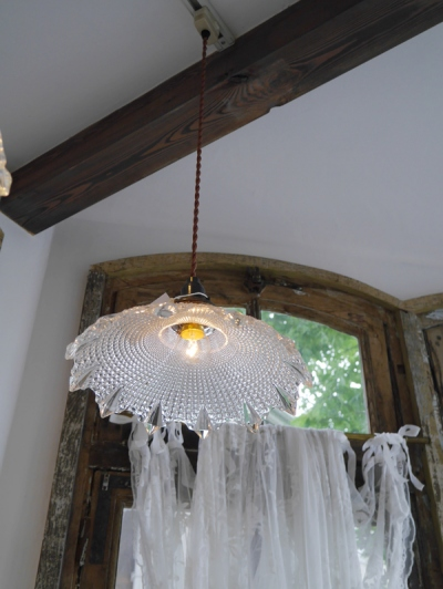 Glass Shade Lamp (N53-11)