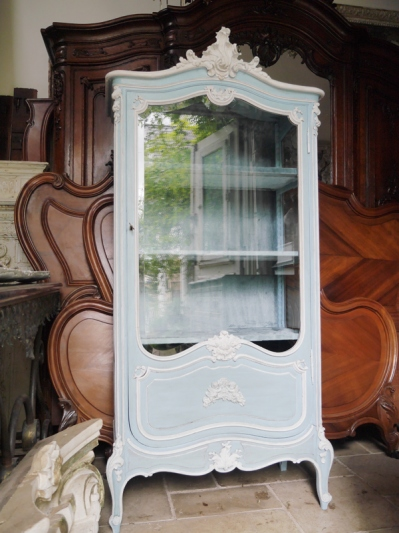Armoire Glass Cabinet (292-23)