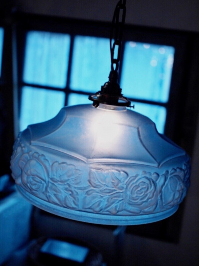 Glass Shade Lamp (D76-19)