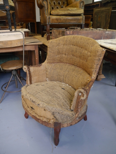 French Arm Chair (040-12)