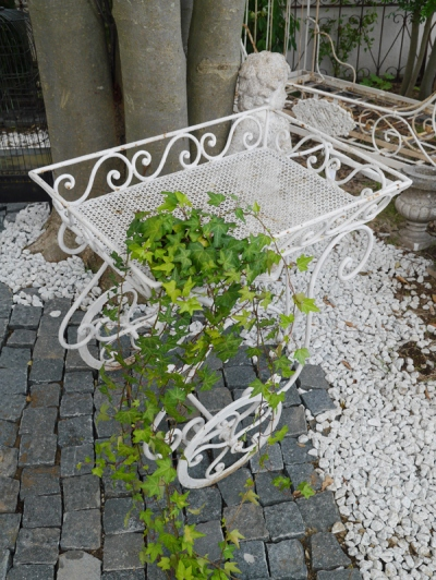 Iron Flower Cart (064-12)