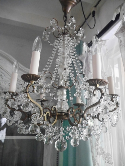 Crystal Chandelier (492-14)