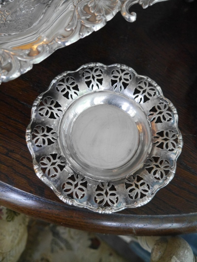 Pair of Silver Tray (E3103-20)