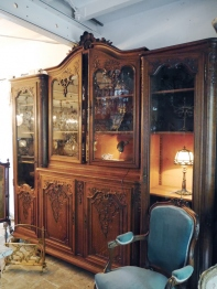 Armoire Glass Cabinet (360-19)