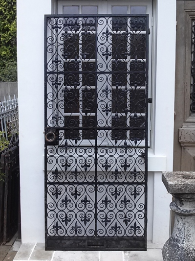 Iron Church Door (F-1)