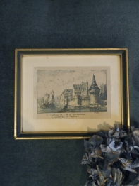 Antique Picture (J4604-13)