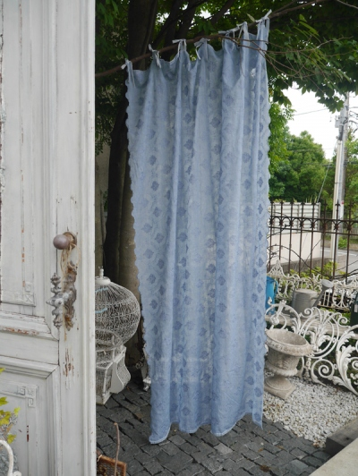 Lace Curtain <Bluegrey> (BN049)