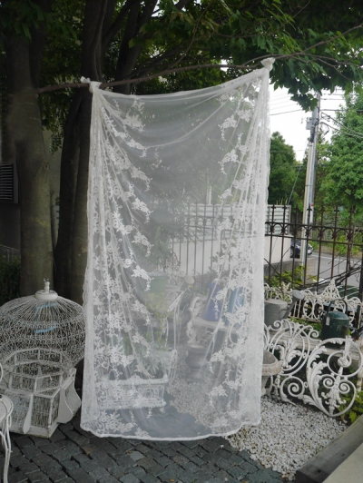 Lace Table Cloth <Snow> (BN050)
