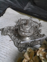 Antique Ink Tray (N026)
