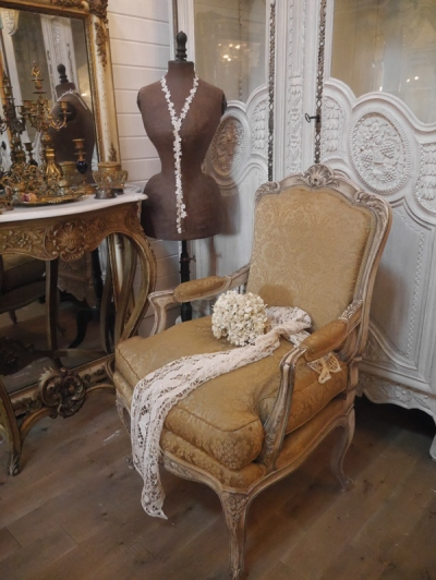 French Arm Chair (824-16)