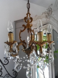 Crystal Chandelier (F046)