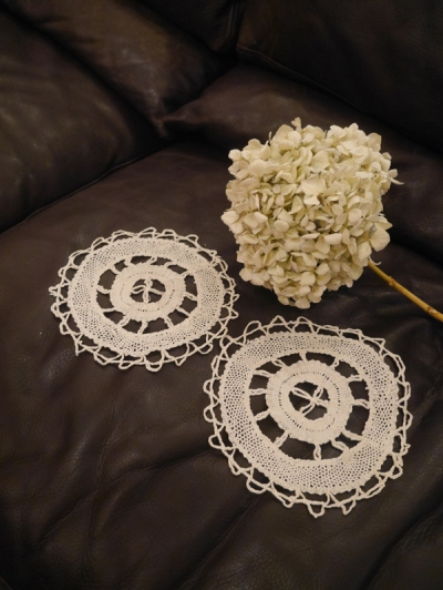 Antique Lace Set (W3415-16)
