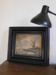 Antique Oil Painting (F25-21)