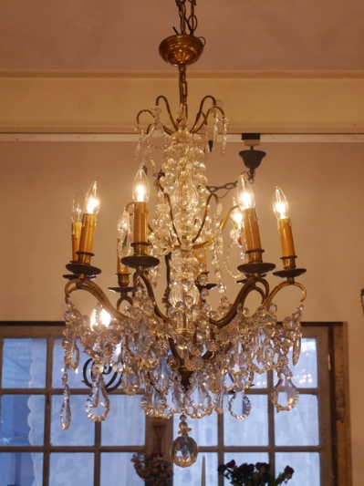Crystal Chandelier (E-1)
