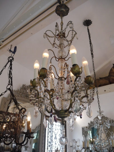 Crystal Chandelier (607-15)